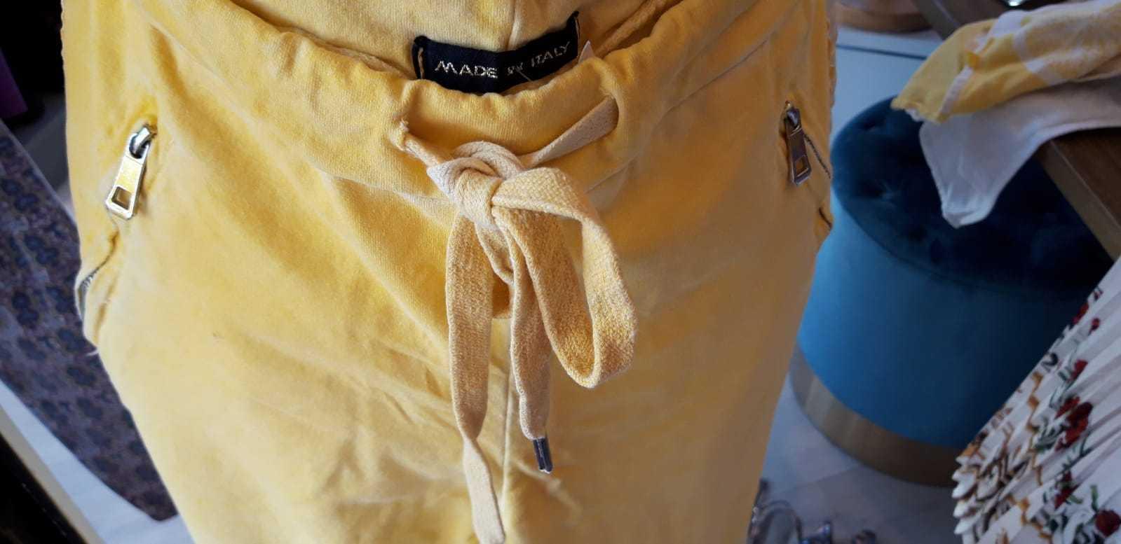 Jogginghose in gelb - Gr. S - statt €49 für €35